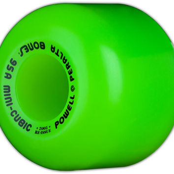 Powell Peralta Mini-Cubic Wheel - Green - 64mm