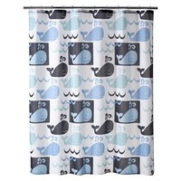Whale Watch Shower Curtain