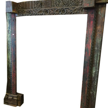 Antique Style Hand Carved Home Entrance Furniture