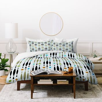 Andi Bird Beatnik Duvet Cover