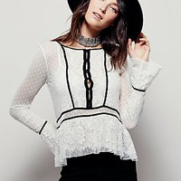 Free People Womens Penelope Peplum