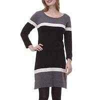 Black Turkish Sweater Knit Dress by Hatley