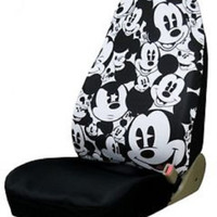 Plasticolor Disney Mickey Mouse Expressions Seat Cover. Brand New