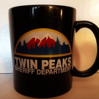 Twin Peaks Sheriff Department Coffee Mug