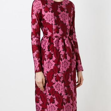 P.a.r.o.s.h. Jacquard Floral Dress - Yusty - Farfetch.com