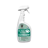 Bubba's Rowdy Friends Pet Supply Company Pet Stain and Odor Remover Enzyme Cleaner Spray for Dog or Cat Urine Stains, 32 oz.