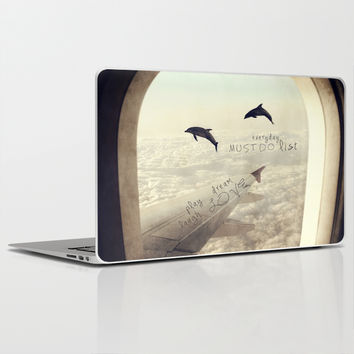 Dolphins Laptop & iPad Skin by Paula Belle Flores