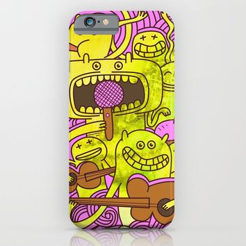 Musicians iPhone & iPod Case by Babak Esmaeli