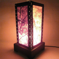 The Leaf Mulberry paper Table Lamp for wedding and bedroom decoration