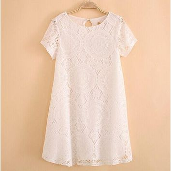 Women's Detailed Lace Dress
