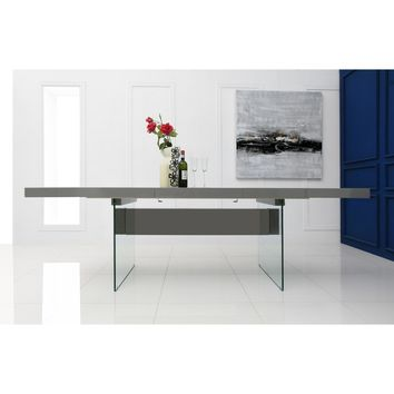 Casabianca Il Vetro Collection CB-111-G-Table Extendable Dining Table