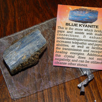 Genuine BLUE KYANITE - Genuine Rough Blue Kyanite - 1+ Inch Gemstones - Metaphysical Crystals - Reiki - Chakra Stones - Gemstone Collection