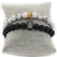His and Hers Bracelets King & Queen Bracelets