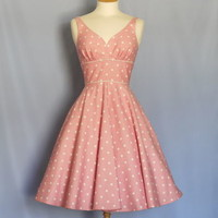 Polka Dot Sweetheart Tea Dress