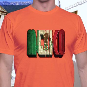 d087c2bf Mexico T Shirt, Unisex Style, South of the Border, Mexican Flag,