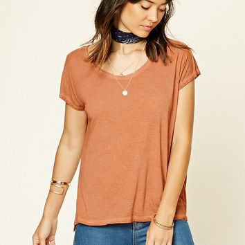 Contemporary Distressed Top