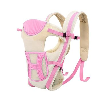 2-24 Months 15KG Breathable Multifunctional Ergonomic Baby Carrier Infant Comfortable Sling Backpack Baby Kangaroo