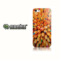 Colorful Pencils Design iPhone 4 4s, iPhone 5/5s, Iphone 5c Hard Case Cover
