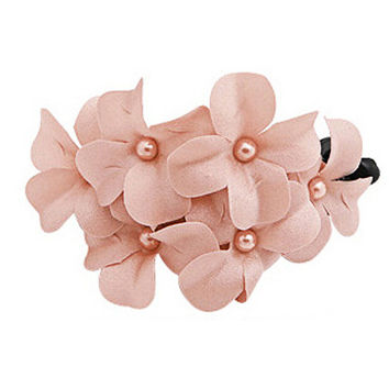 New Chic Pink Flowers Hair Accessory