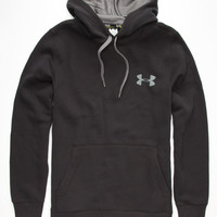 Under Armour Rival Mens Hoodie Black  In Sizes