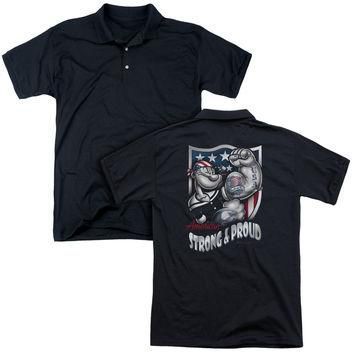 Popeye-Strong & Proud - Polo & Work Shirts