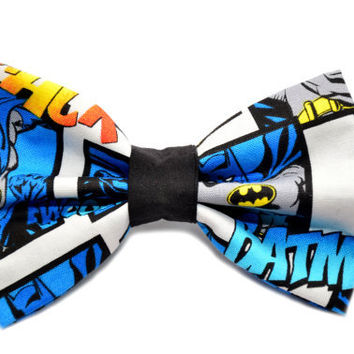 Batman Bow Tie with Adjustable Strap