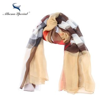 New Arrival Women's Scarf Luxury Silk Imitation Material Shawls And Scarves