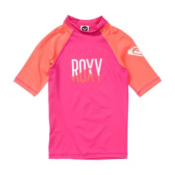 Roxy - Girls 7- 14 Roxy Wave SS Girl Rashguard