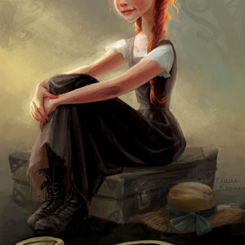 Anne of Green Gables Art Print by Claire Keane | Society6