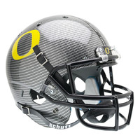 Oregon Ducks NCAA Replica Air XP Full Size Helmet (Alternate Carbon Fiber 4)