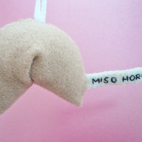 Funny Valentine Ornament Naughty Fortune Cookie by TheOffbeatBear