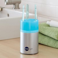VioLight UV Toothbrush Sanitizer at Brookstone. Shop Now! $50