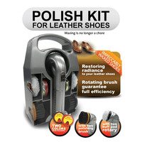 Polish Kit for Leather Shoes