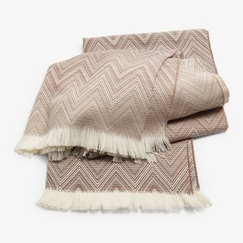 Missoni Home Timmy Throw Natural