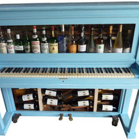 Funky furniture: bespoke piano drinks cabinet bar