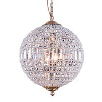 Olivia 3 Light Globe Pendant