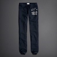 Gilly Hicks Banded Crop Sweatpants