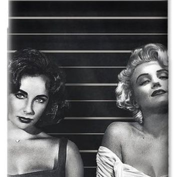 Elizabeth Taylor And Marilyn Monroe Rivals Art Iphone 6 Plus Cover Case 2015 IPhone 6s Case