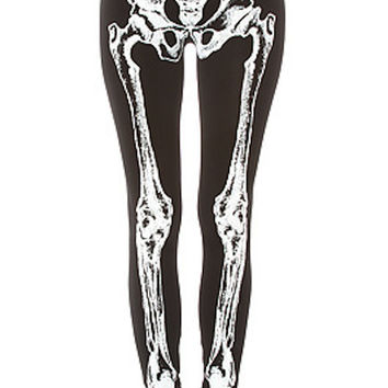 SKELETON BONE LEGGINGS