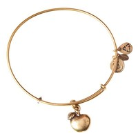 Alex and Ani Apple Of Abundance Charm Bangle - Russian Gold