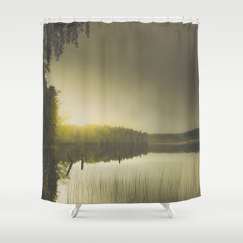 Come on baby, light my fire Shower Curtain by HappyMelvin