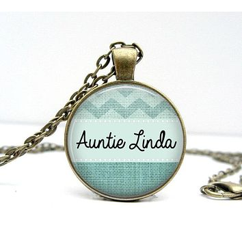 AUNT Gift Personalized Necklace - Aunt Necklace - Aunt Jewelry - Gifts for Aunts