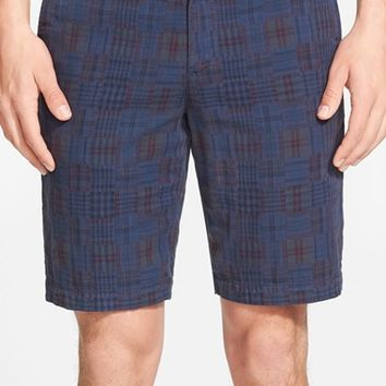 Men's Original Penguin Slim Fit Madras Shorts,