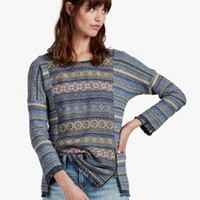 Escape Fringe Sweater | Lucky Brand