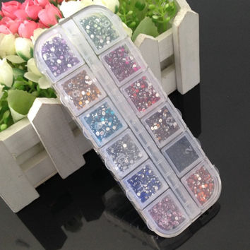 Nail Stickers Acrylic Box [10250038220]