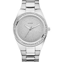 GUESS Watch, Women's Stainless Steel Bracelet 39mm U10071L1 - Women's Watches - Jewelry & Watches - Macy's