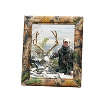 Weber's Camo Leather Photo Frame - 8x10 Realtree Timber