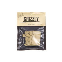 Grizzly Grip Tape Blades With Logo Gold