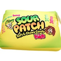 Sour Patch Kids Squishy Candy Pillow