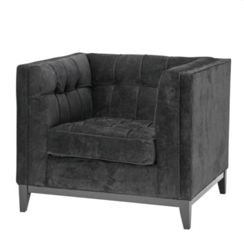 Black Lounge Chair | Eichholtz Aldgate